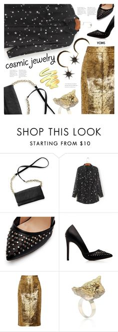 """""""Cosmic Jewelry(YOINS 11)"""" by meyli-meyli ❤ liked on Polyvore featuring Ann Demeulemeester, Raoul, yoins, yoinscollection, loveyoins and cosmicjewelry"""