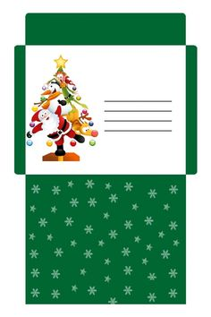 Enveloppe Noël gratuite à imprimer Christmas Envelopes, Christmas Gift Box, Christmas Cards, Christmas Letterhead, Christmas Stationery, Envelope Pattern, Diy Envelope, Free Printable Stationery, Printable Recipe Cards