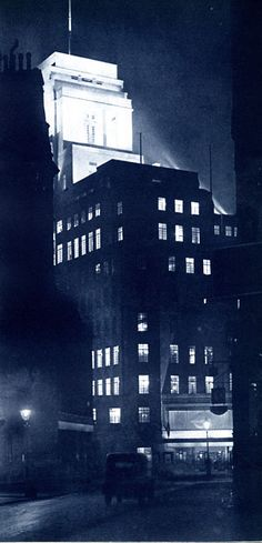 Dark city: atmospheric photographs of London streets by night in the 1930s