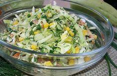 villamgyors-kaposztasalata-egy-konnyed-finomsag-amit-barmilyen-husos-etel-melle-kinalhatsz Party Finger Foods, Light Recipes, Potato Salad, Cabbage, Salads, Food And Drink, Lunch, Vegetables, Cooking