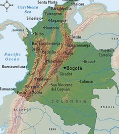 Colombia...one day, I would love to visit our sponsored child here