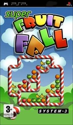 Super Fruit Fall (PSP) by System 3