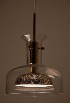'Crystal' Ceiling Lamp by Anders Pehrson for Atelje Lyktan 2