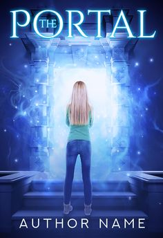 magical portal with girl fantasy premade cover art Base Image, Premade Book Covers, Book Title, Book Cover Design, Cover Art, Portal, Fantasy, Paranormal, Concert