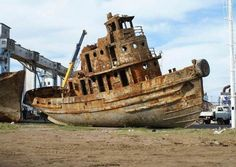 Image detail for -collection of wrecked and abandoned ships