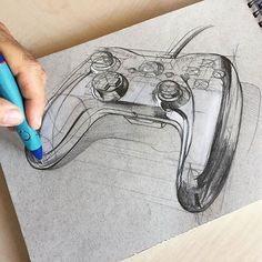 By @hakangursudr #idsketching #sketch #sketching #design #designsketch #pencil #linework #sketchbook #industrialdesign #productdesign #drawing #illustration #gatinky #drawing #dibujo #instaart #art #illustration #artoftheday #pencildrawing #traditionalart #instagood #game #gamer #diseño #inspiration