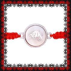 Martisor Bratara Sidef Zodia Taur Scorpion, Zodiac, Crochet Necklace, Personalized Items, Jewelry, Scorpio, Jewlery, Crochet Collar, Bijoux