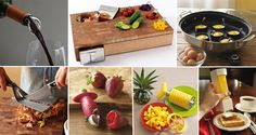 These days, there's a gadget for just about everything you can imagine. And that includes gadgets to help you out in the kitchen. From a selection of the cleverest cutting boards to an egg yolk separator and avocado cuber, this list of 20 useful and practical gadgets for your kitchen will make life that little bit easier. Check it out!