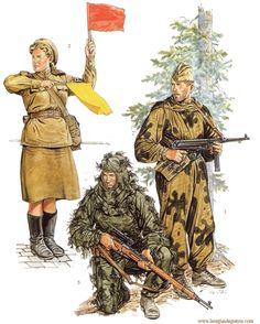 Soviet army.