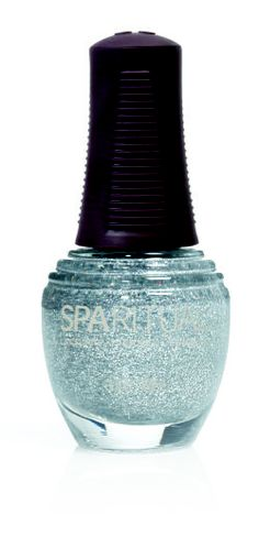 "SpaRitual ""Illumination"" (glitter) nail polish http://www.organicspamagazine.com/"