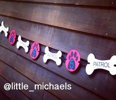 Personalizada de la pata patrulla cumpleaños por LittleMichaels