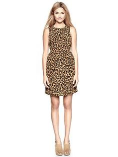 Yup, just ordered this for a wedding we are going to. WHO AM I?    Printed princess-seam dress | Gap