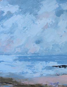 Coastal Fog, Beach, Coast, Mendocino, Fort Bragg, California, Ocean, Seaside, Home Decor, Art, Artwork, honeyscolors