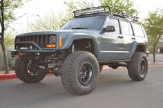 Don't mind this roof rack and light bar combo