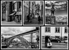 Tres collages de Oporto   Turismo en Portugal
