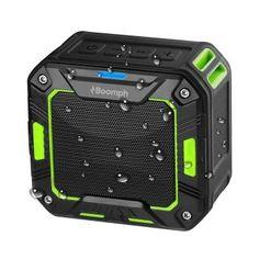 Boomph Wireless Water Resistant Bluetooth 2000 MAH Speakers Speaker Wire, Bluetooth Speakers, Bluetooth Gadgets, Electronic Deals, Boombox, Shower Speaker, Outdoor Speakers, Orange, Bike Mount