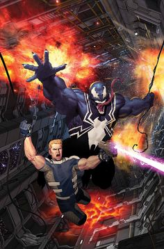 bear1na:  Venom: Space Knight #6 by Ariel Olivetti *