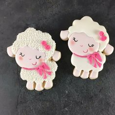 Easter Lamb Cookies