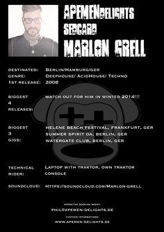 Sedcard: Marlon Grell