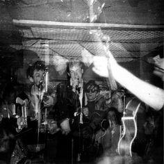 The Beatles performing at the Iron Door Club, mutiple exposure by Beatlesgirl7, via Flickr
