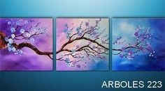 Moddern Asain Zen Blossom Tree Landscape by Catalin. So tranquil and pretty.Abstract Moddern Asain Zen Blossom Tree Landscape by Catalin. So tranquil and pretty. Pintura Graffiti, Original Art, Original Paintings, Painting Inspiration, Diy Art, Amazing Art, Awesome, Landscape Paintings, Cool Art