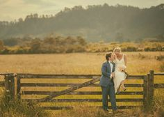 bride & groom in the country | Image by Jake Thomas