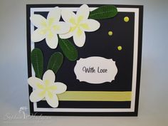 My Favourite Things 'Tropical Sensations' card. #mftstamps