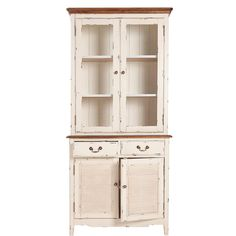 BUTLERS CABOTT COVE Buffetschrank, 2-tlg. mit Glastüren Vitrine Holzschrank in Möbel & Wohnen, Komplett-Küchen & Ausstattung, Küchenschränke | eBay
