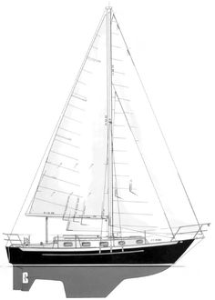 The Pacific Seacraft 31 Sailboat : Bluewaterboats.org - Specifications Lmax: 31′ 10″ (includes  bowsprit) LOA: 30′ 6″ (excludes bowsprit) LWL: 24′ 2″ Beam: 9′ 10″ Draft Standard: 4′ 11″ Draft Shoal: 4′ Displacement: 11,000 lbs. Ballast: 4,400 lbs. Sail Area, Cutter: 600 sq. ft. Sail Area, Sloop: 485 sq. ft.  Headroom: 6′ 1″ Engine: Yanmar 27hp diesel / Yanmar 3GM30F 30hp diesel Fuel: 30 US. Gal. Water: 65 US. Gal.  Designer: William I. B. Crealock Builder: Pacific Seacraft Year Introduced…