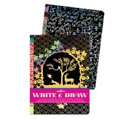 Silhouette Write and Draw Notebook Set | eeBoo