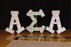 The Zeta Eta Chapter's letters.   @Alpha Sigma Alpha