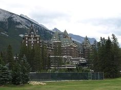 Banff Springs Hotel in Banff National Parks in Alberta