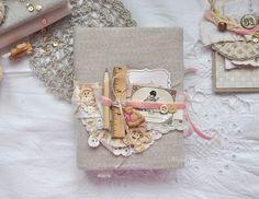 Handmade by MariaZh: Только для девочек. Открытка и блокнот.
