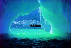 Antartica  -- It looks lovely but I know that I couldn't take the cold of visiting!