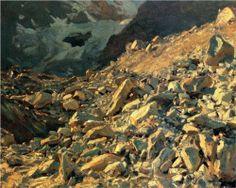 Moraine - John Singer Sargent