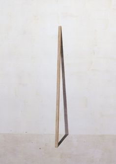 Untitled (Stick) detail, Toba Khedoori, 2005.