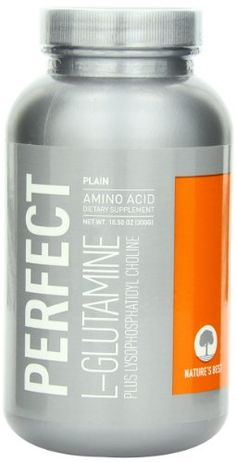 Nature's Best L-Glutamine, 300 g Bottle *** You can get more details by clicking on the image.