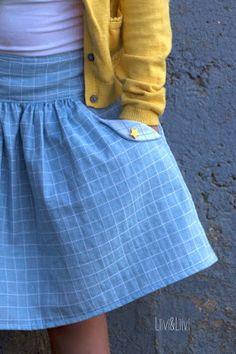 Lotta Skirt - Compagnie M. http://www.liiviundliivi.com/2017/08/dem-himmel-so-nah.html