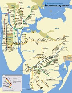 Our new Sandy subway map