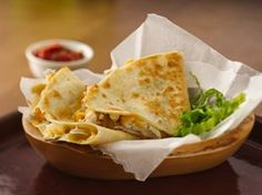 Chicken-Chile Quesadillas Recipe from Betty Crocker