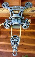 This is caled called a trolley pulley