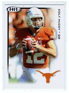 Sports Cards - 2010 Sage HIT Colt McCoy
