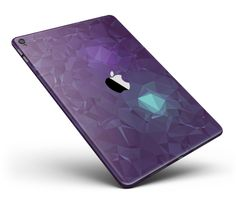"""Purple Geometric V11 Full Body Skin for the iPad Pro (12.9"""" or 9.7"""" available) from DesignSkinz"""
