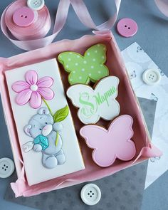 Mother's Day Cookies, Sweet Cookies, Baby Cookies, Baby Shower Cookies, Easter Cookies, Cupcake Cookies, Flower Sugar Cookies, Butterfly Cookies, Best Sugar Cookie Recipe