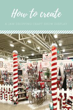 How to create a winter wonderland craft show set up Creating unique handmade home decor such as fabric United States maps, pillows, banners & wall art. We also specialize in home decor for every holiday season! Craft Show Booths, Craft Booth Displays, Craft Show Ideas, Display Ideas, Craft Show Table, Craft Fair Table, Christmas Booth, Christmas Craft Show, Christmas Store