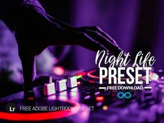 Free Lightroom Preset which has been created for Night Life Photography - Ideal for images in Night Clubs, Music Events, City Streets with Neon Lighting etc Best Free Lightroom Presets, Lightroom 4, Photoshop Actions, Photography Business, Life Photography, Portrait Photography, Light Leak, Night Life, Photo Editing