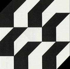Sem Título 1983   Geraldo de Barros montagem em laminado plástico 120.00 x 120.00 cm