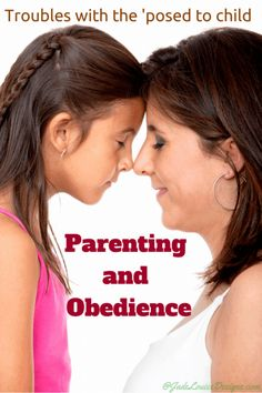 """As a parent I always complain, """"why can't they just obey me!"""" I want obedient children. Really I do. I don't think any parent comes into this job wishing their children will rebel and disobey their every wish, request or plea. We don't want the constant battles, or the continuous """"why?"""" questions. We want obedience....Read More"""