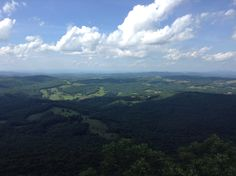 Buffalo mountain near meadows of Dan Virginia . It is so beautiful after you hike a mile and a half up .