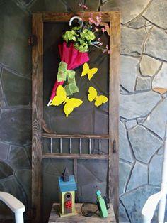 43 Best Umbrella Flower Wreath Images Umbrella Wreath Door